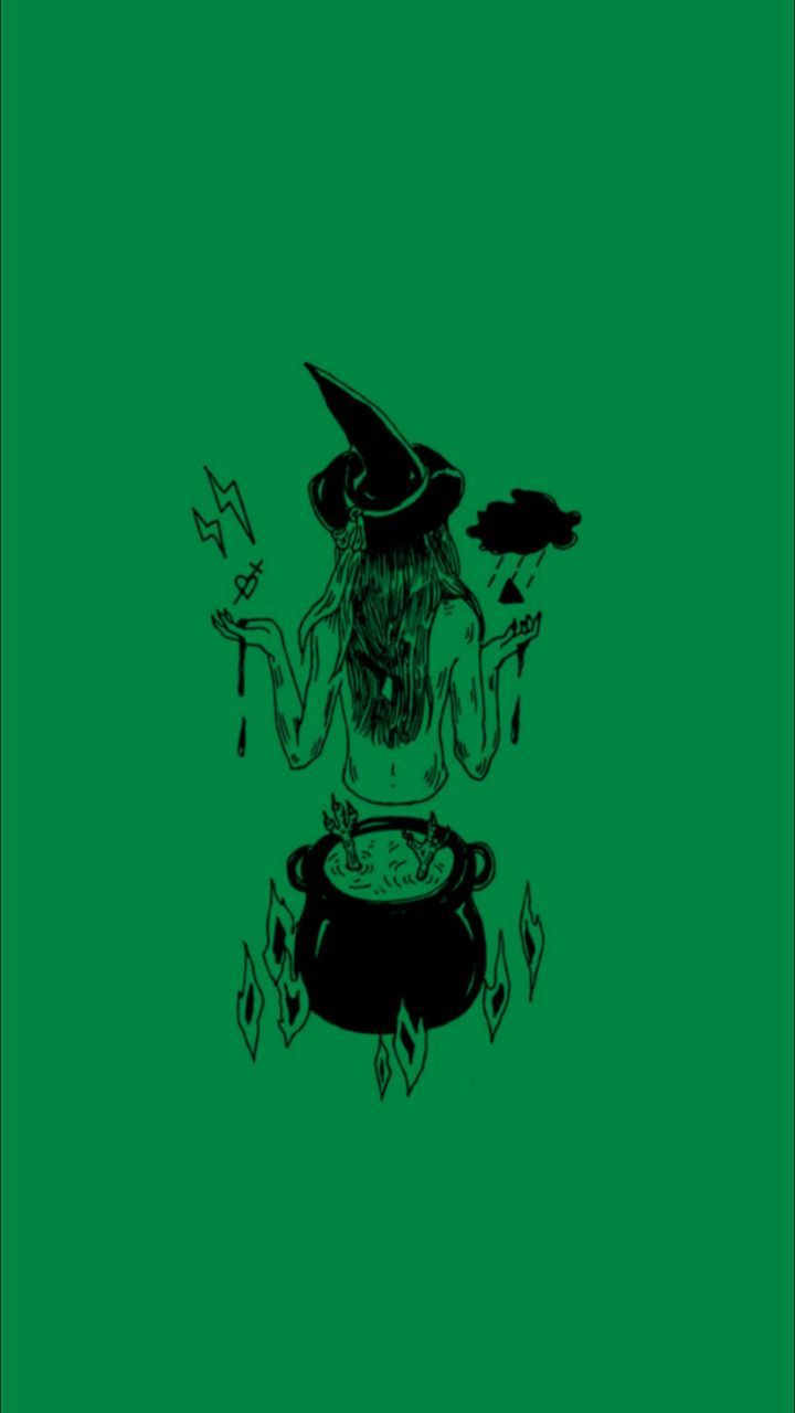 Halloween Witch Aesthetic Wallpapers   Top Halloween Witch 720x1280