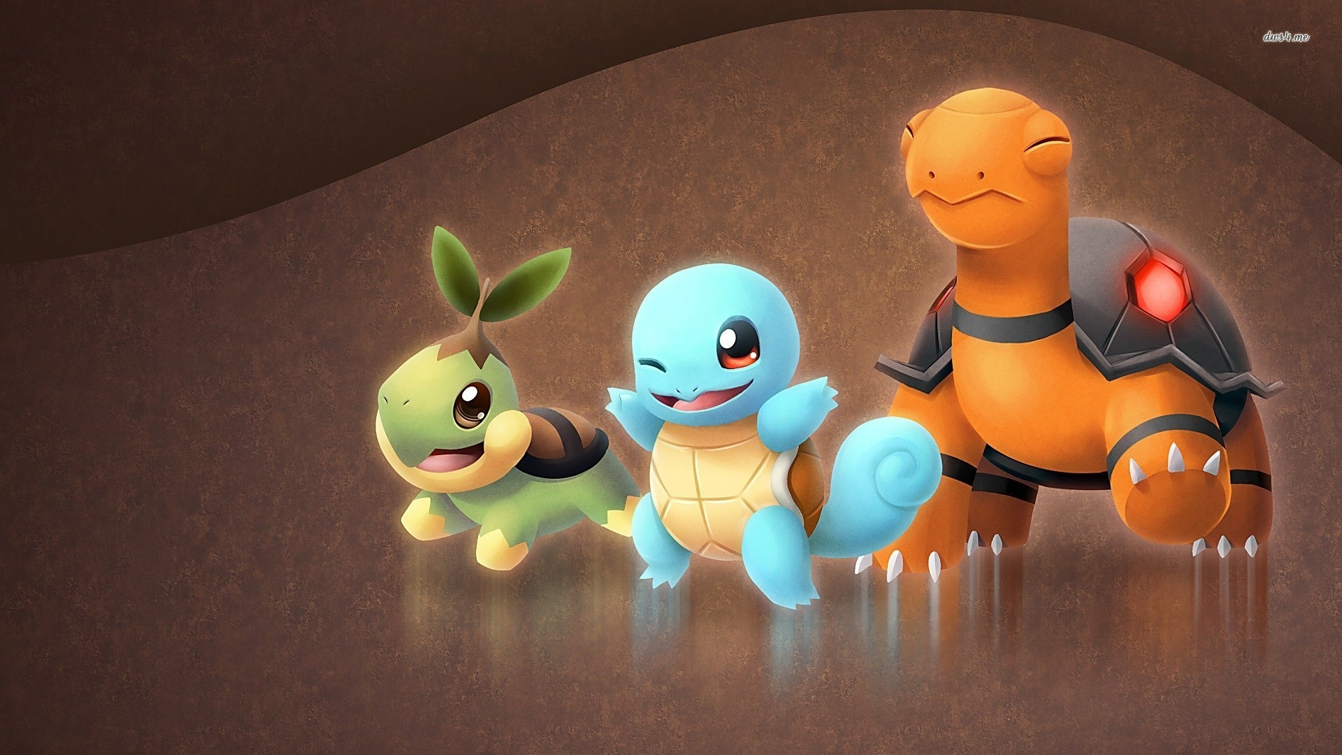 Squirtle Turtwig   Pokemon wallpaper   Anime wallpapers   11343 1920x1080