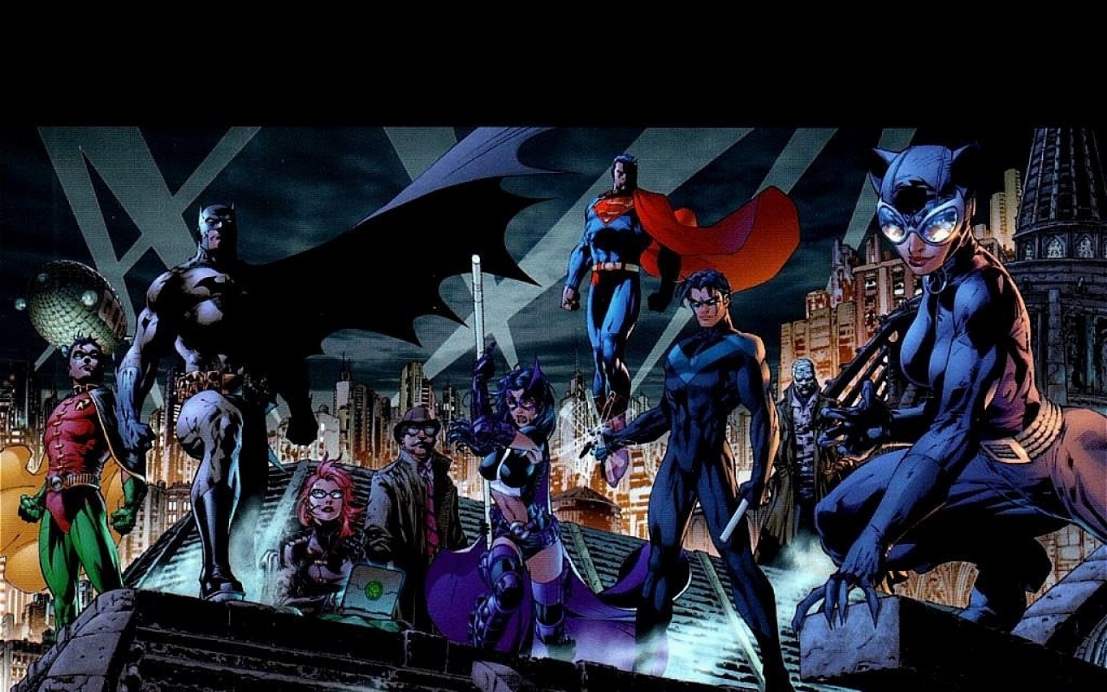 Batman   DC Comics HD Cartoons Wallpapers 1600x1000