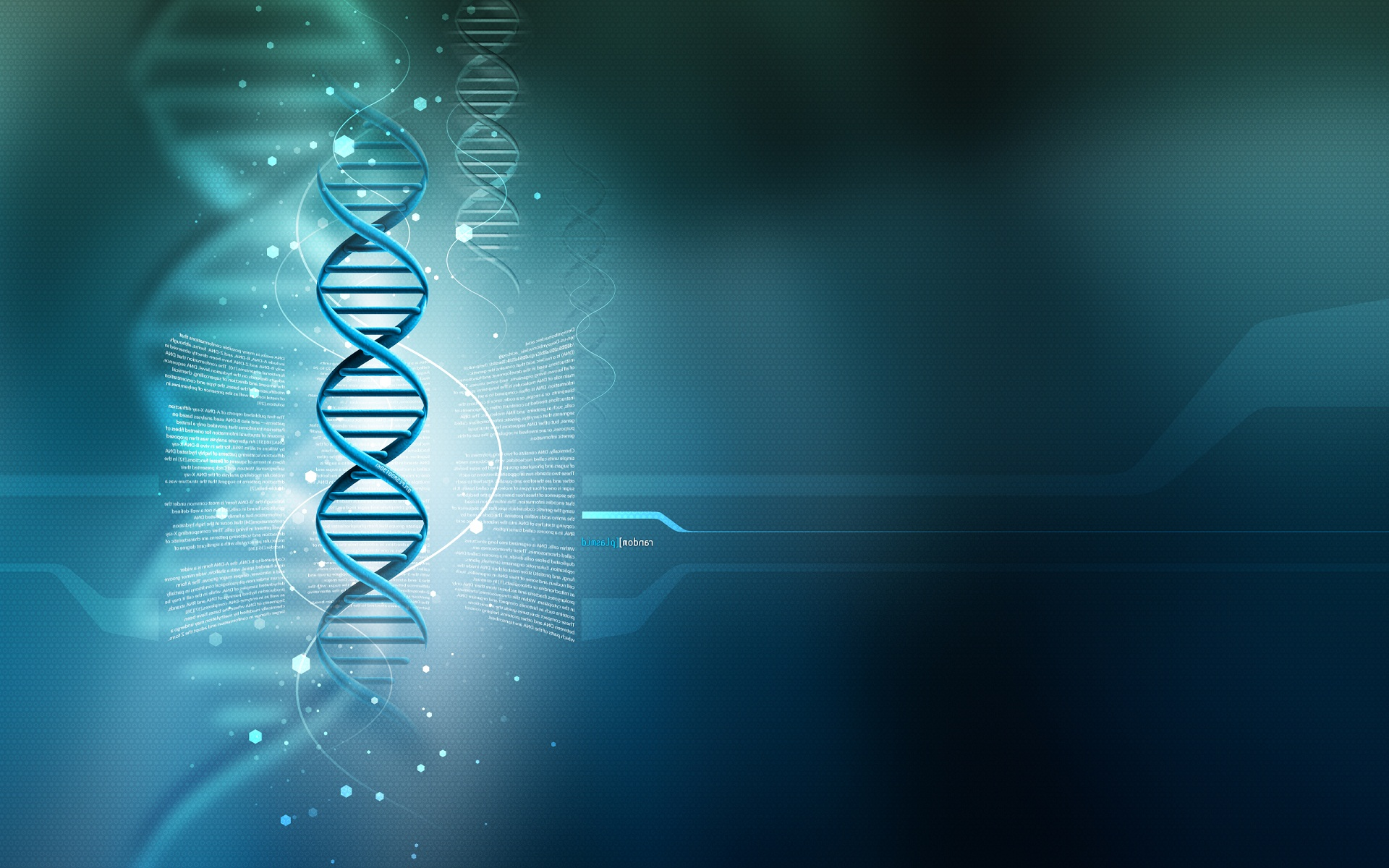 DNA 3D HD Wallpaper Widescreen Background For Desktop 1920x1200