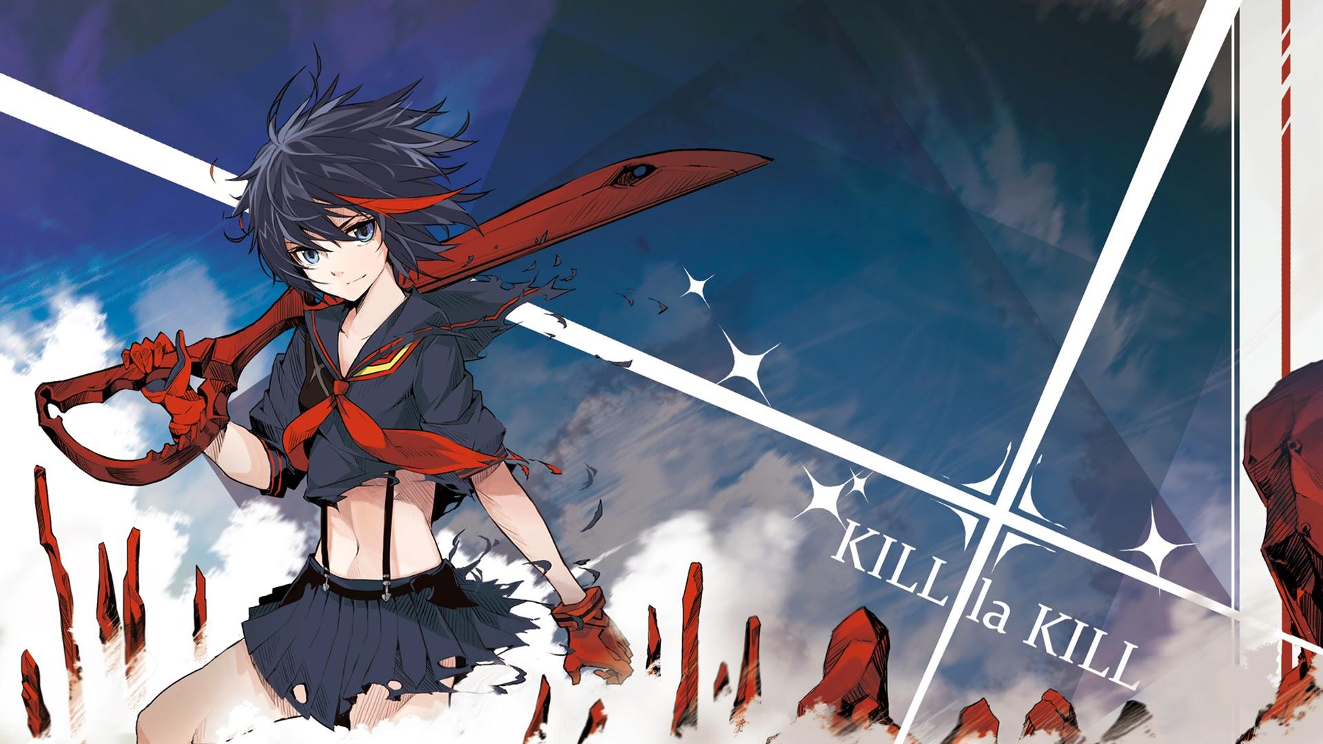matoi ryuko kill la kill anime girl picture hd wallpaper 1920x1080 4h 1920x1080