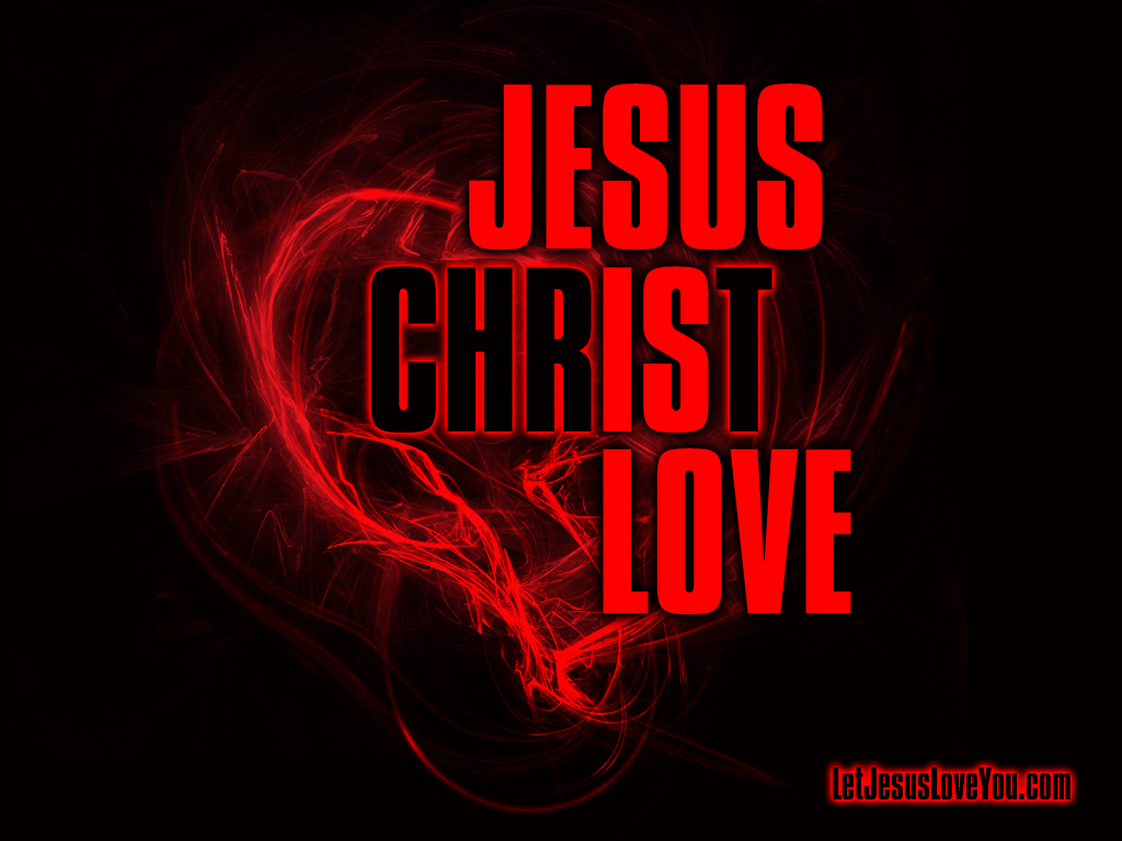 Jesus Desktop Wallpapers Jesus is love 1024x768