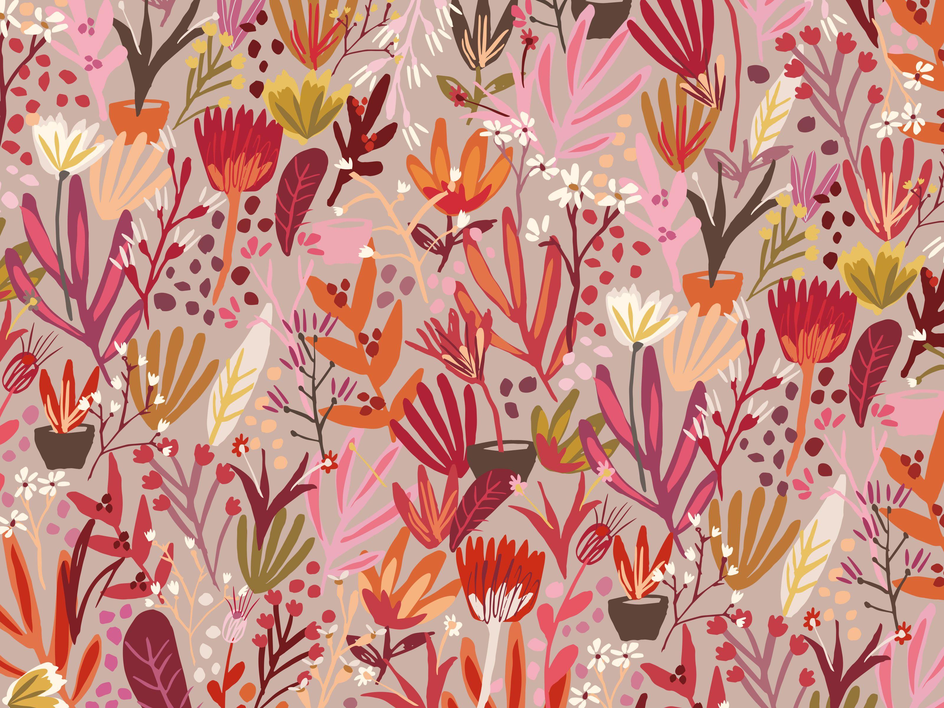 Free Download 45 Fall Floral Desktop Wallpapers Download At