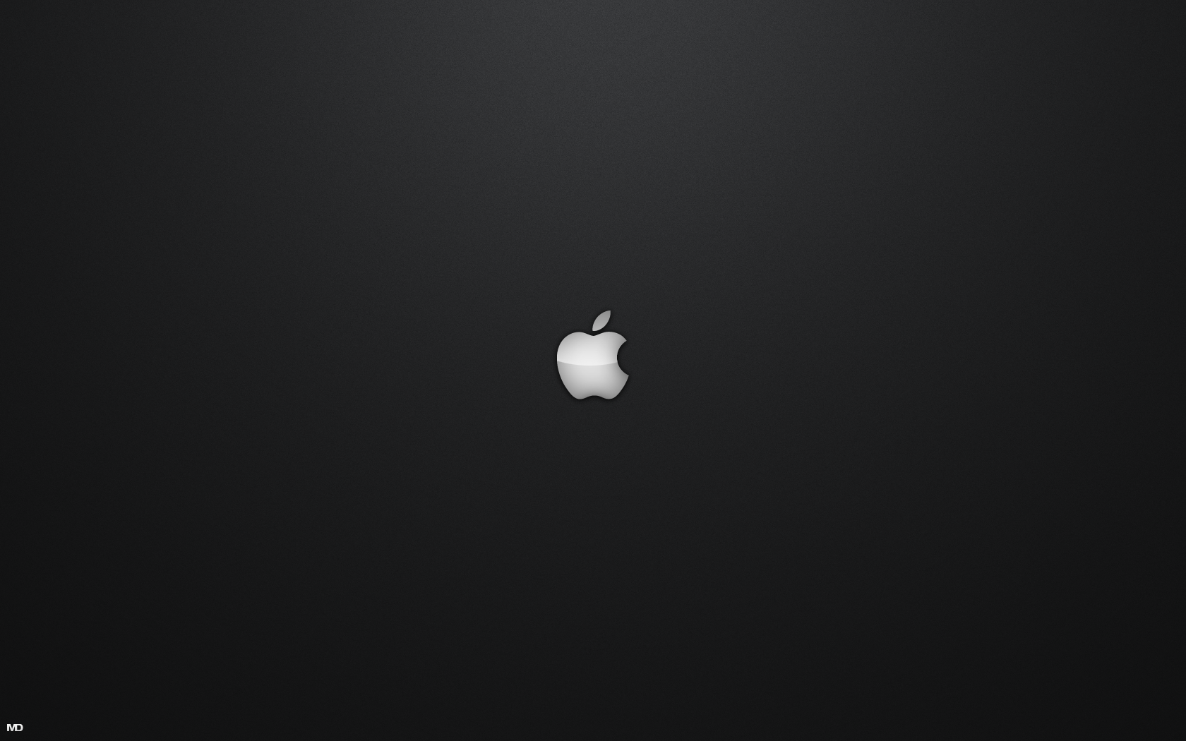 Black And White Apple Wallpaper 1680x1050