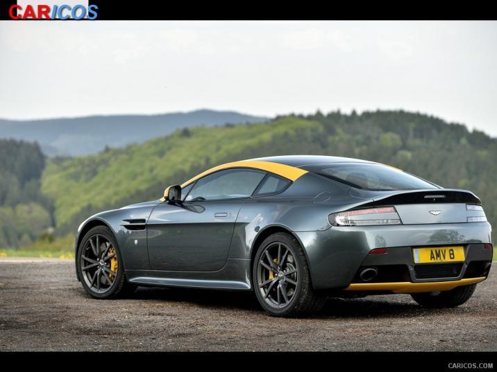 2015 Aston Martin V8 Vantage N430 Alloro Green   Rear HD Wallpaper 716x537