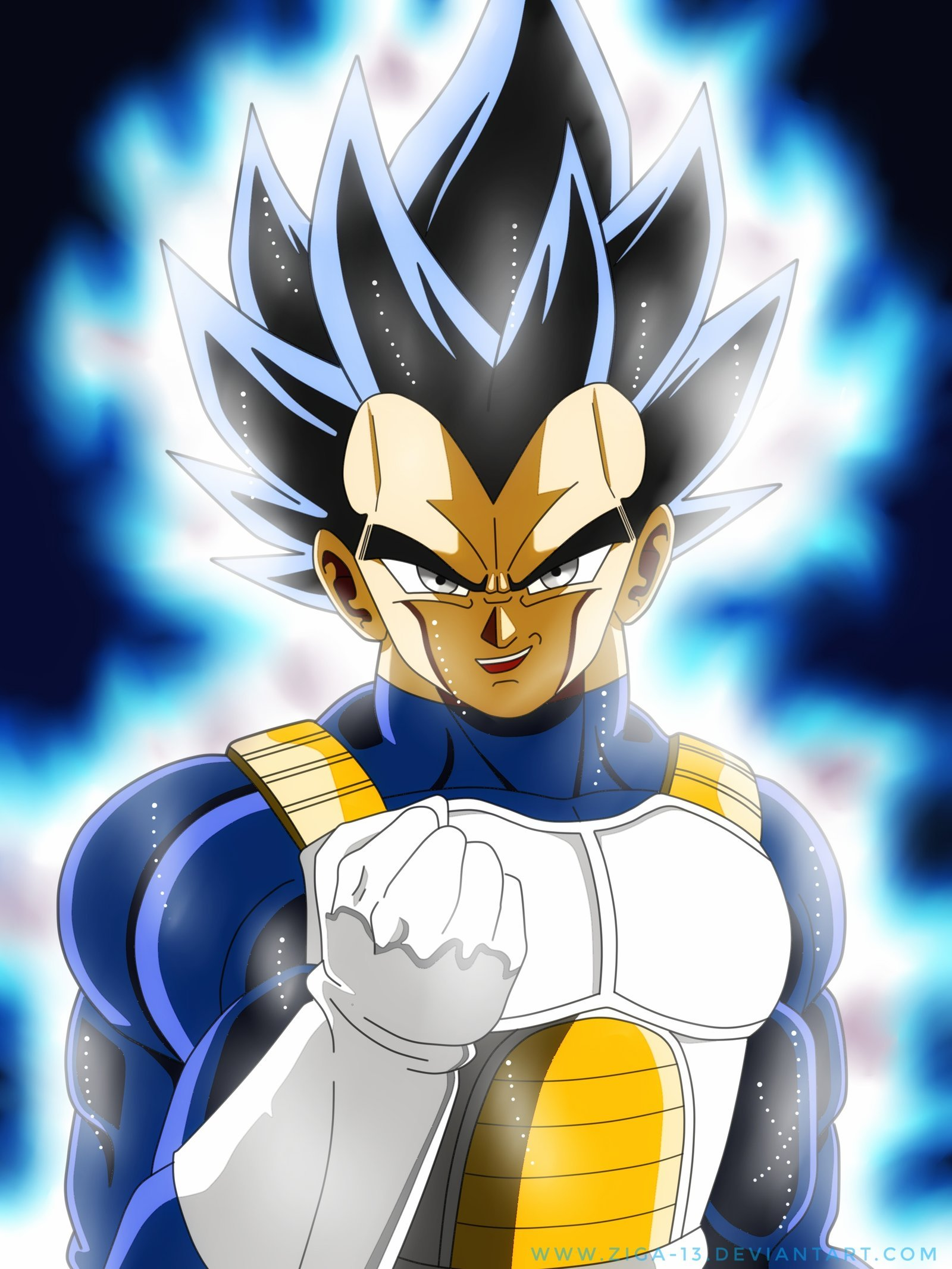 Vegeta Ultra Instinct by Ziga 13 1600x2133