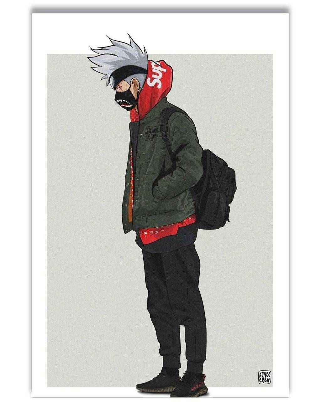 Kakashi brands in 2019 Naruto wallpaper Anime art Art 1024x1280