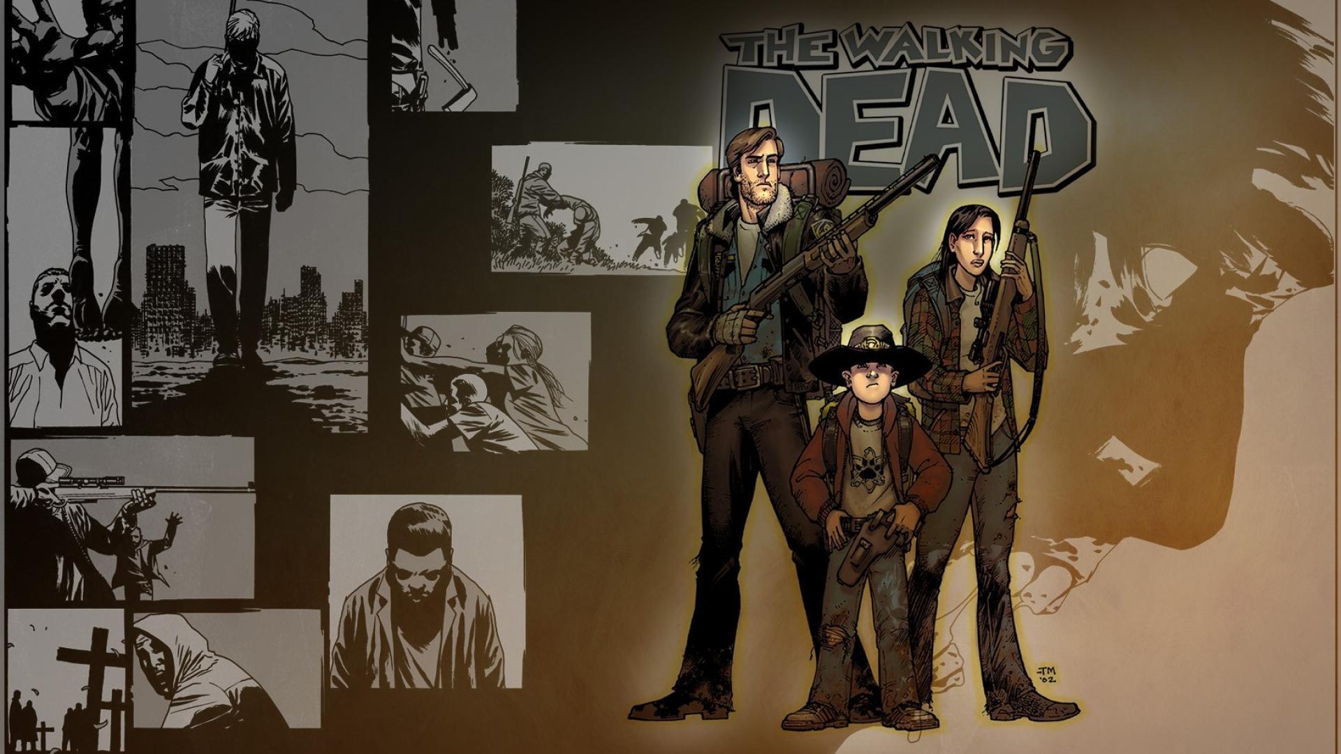 Free Download Comics The Walking Dead Drawings Wallpaper 63461