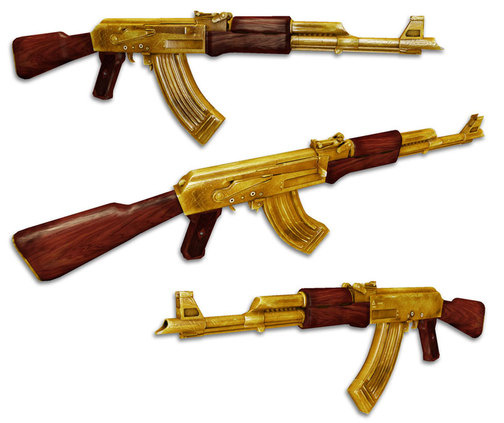 Wallpapers 2012 gold ak 47 wallpaper ak 47 gold wallpaper ak 47 504x423