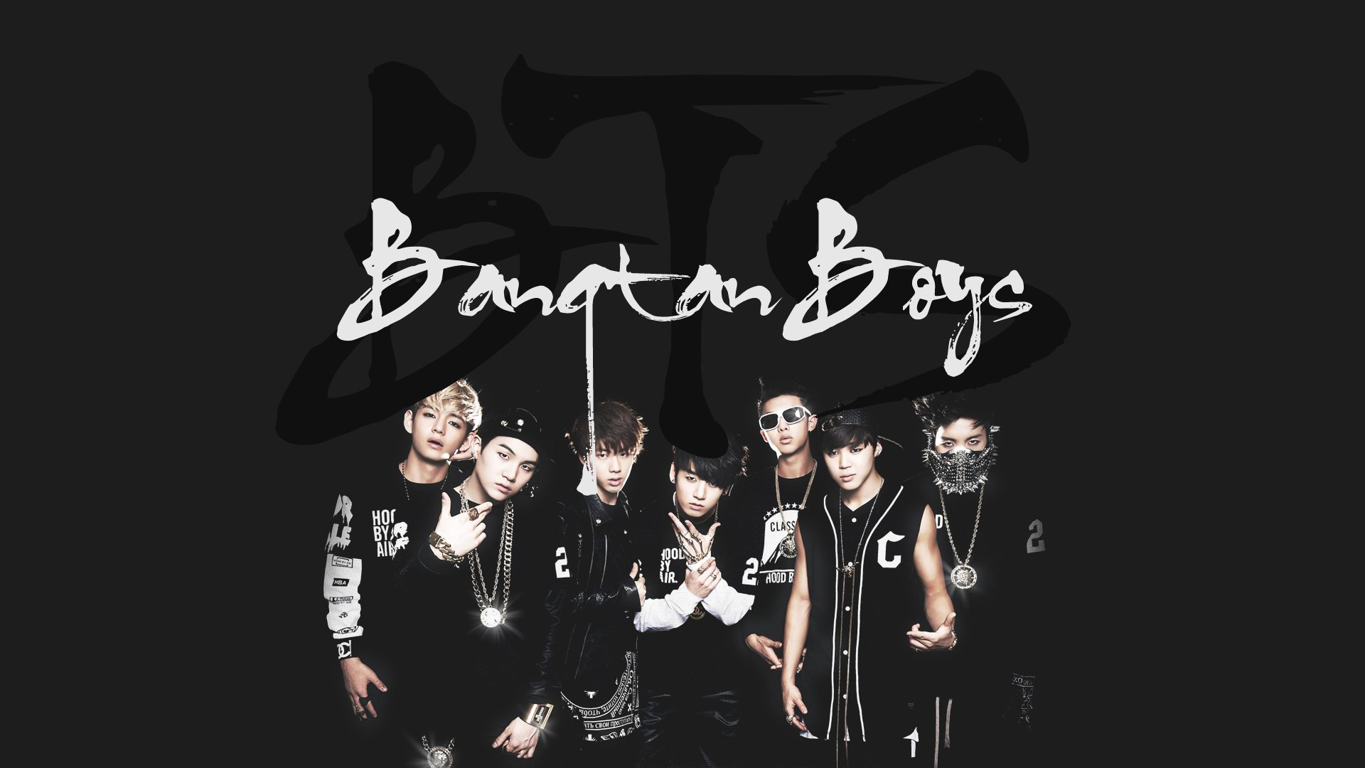 Bulletproof Boy Scouts bts kpop hip hop r b dance wallpaper background 1920x1080