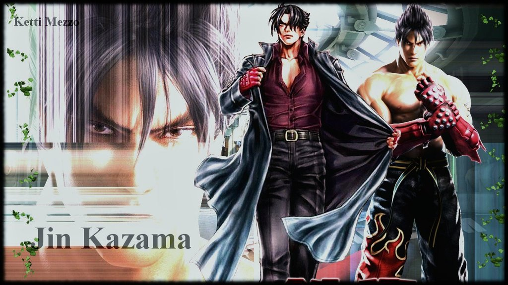 Kazama Wallpaper 3d Tekken Wallpapers Jin Kazama Shehan Download