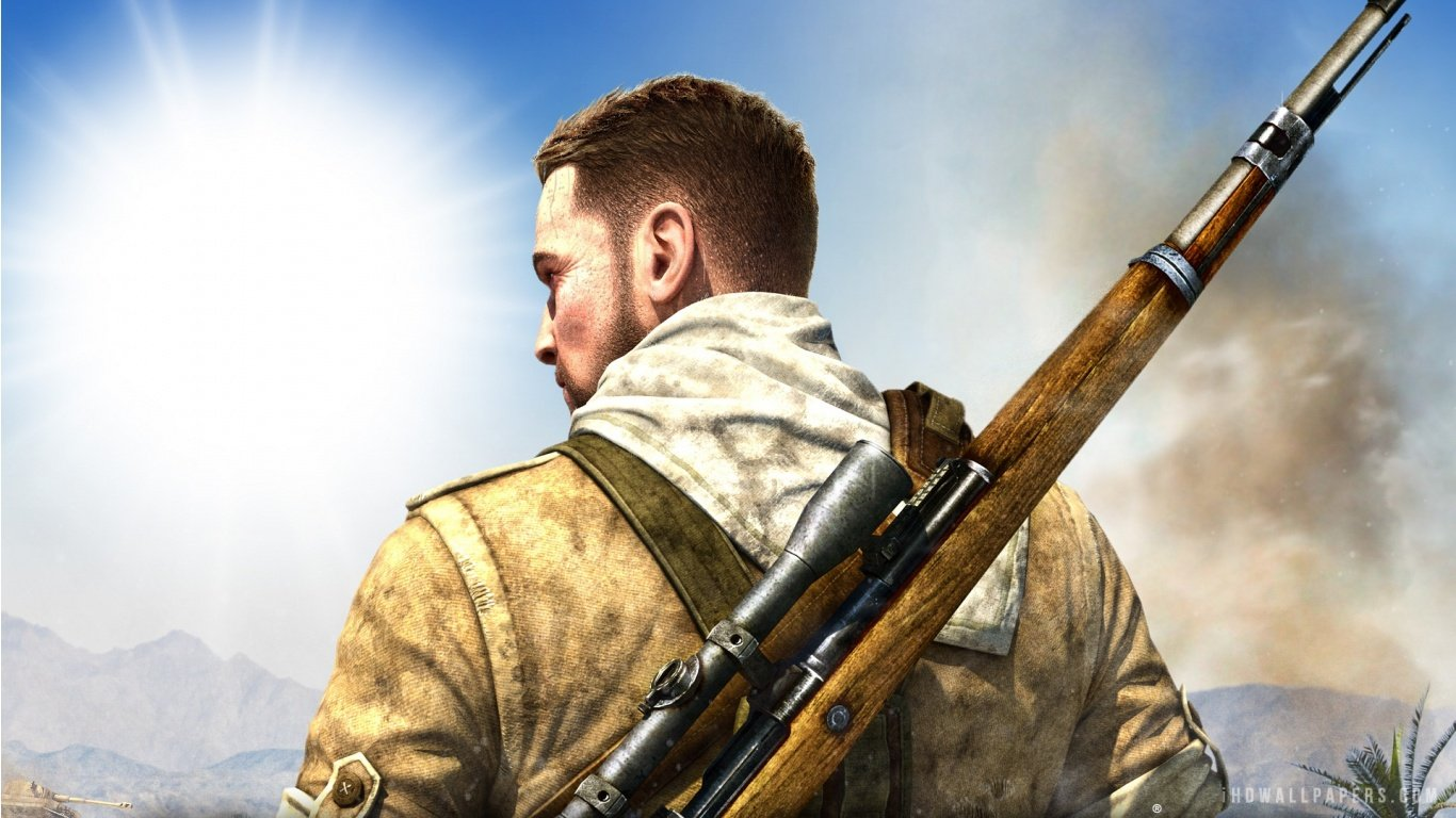 Carl Fairbairn in Sniper Elite 3 HD Wallpaper   iHD Wallpapers 1366x768