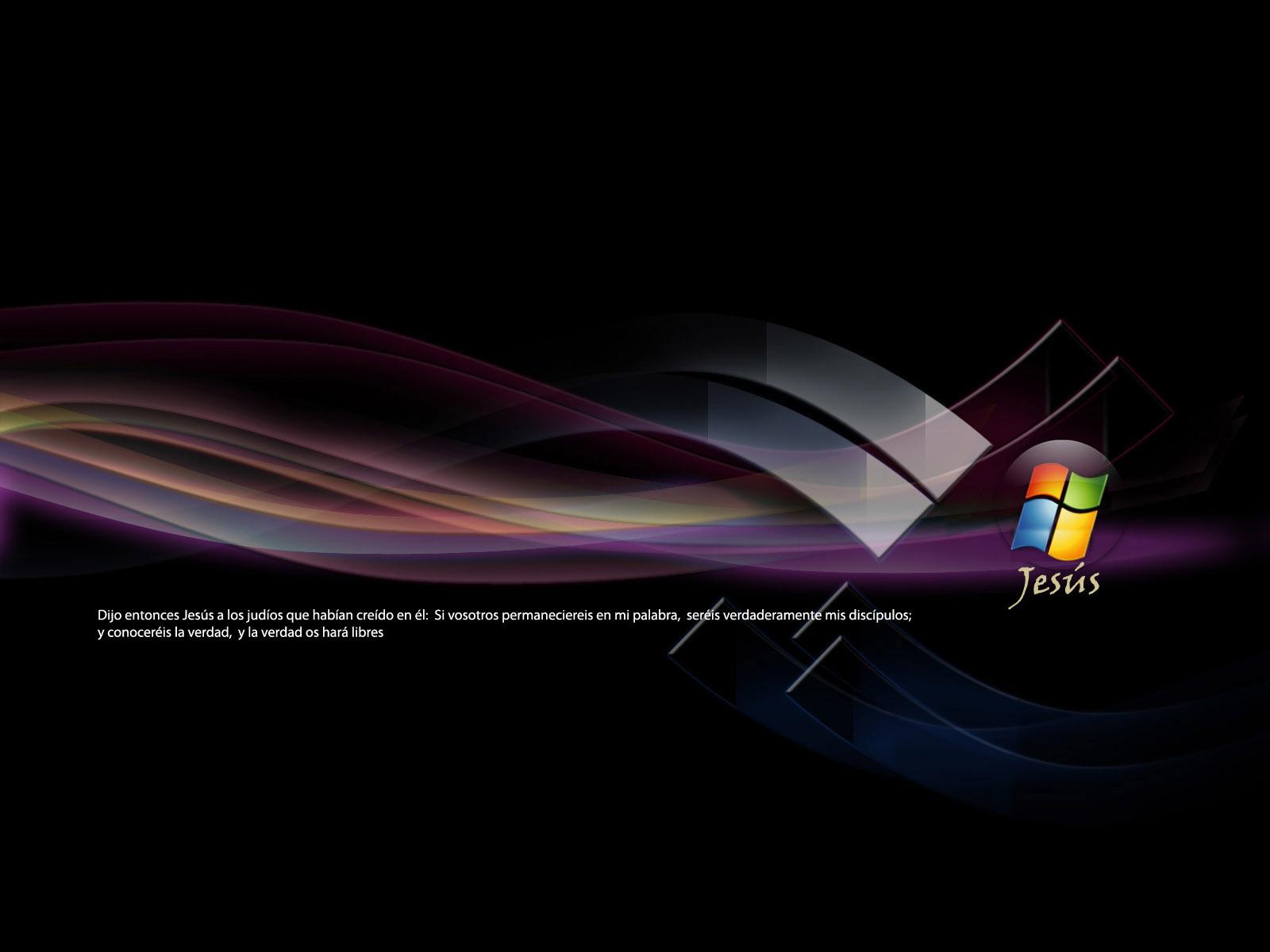 Fondos de escritorios gratis Logo windows cristiano 1600x1200