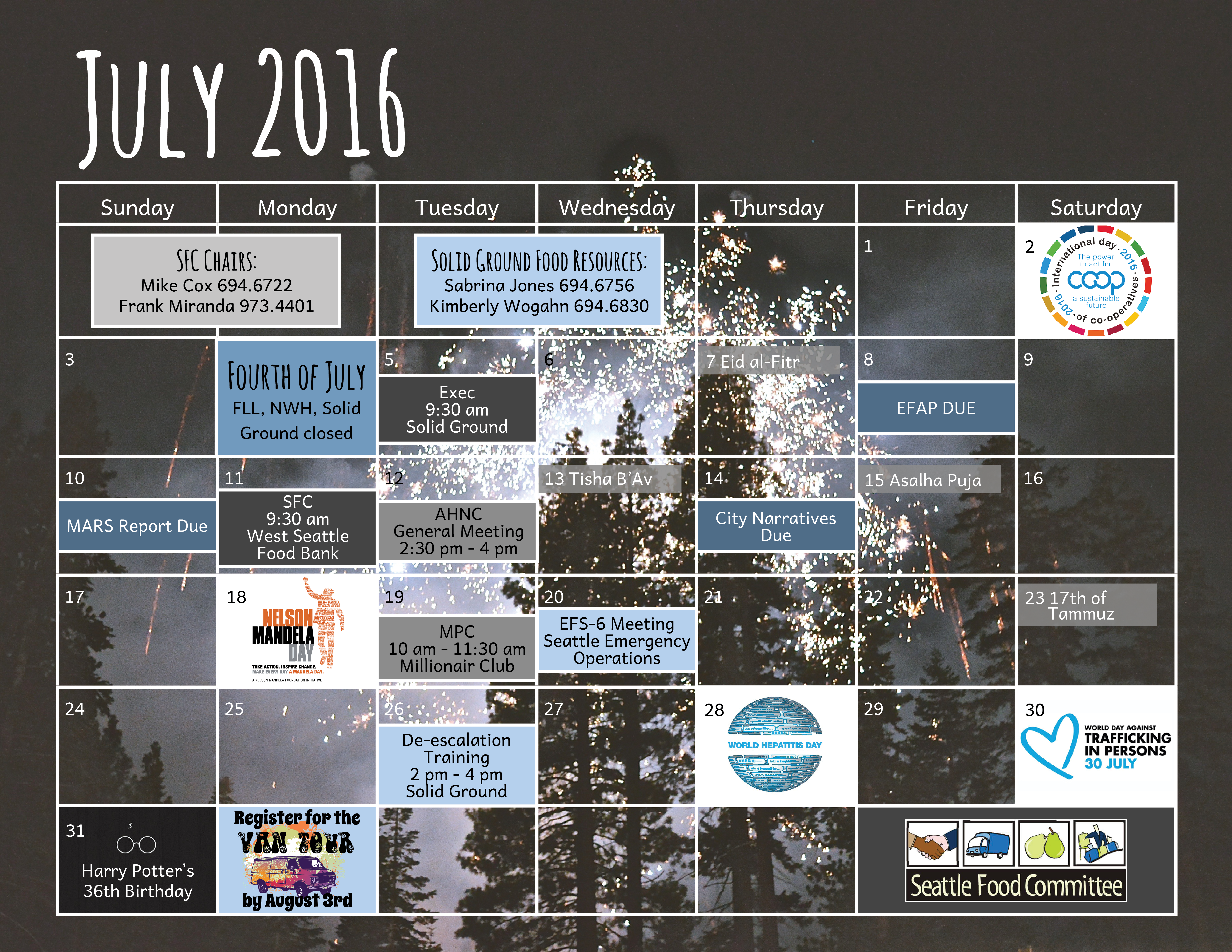 Seattle Food Committee   Calendar   July 2016 SFC Calendar 6600x5100