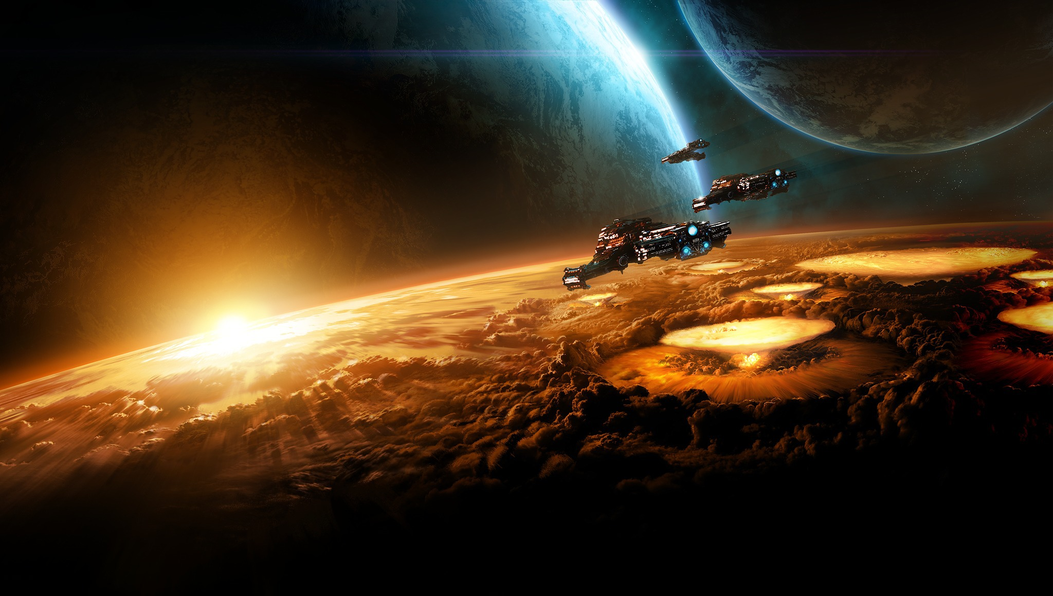 Somewhere in Space SC2 related[2048x1160] wallpapers 2048x1160