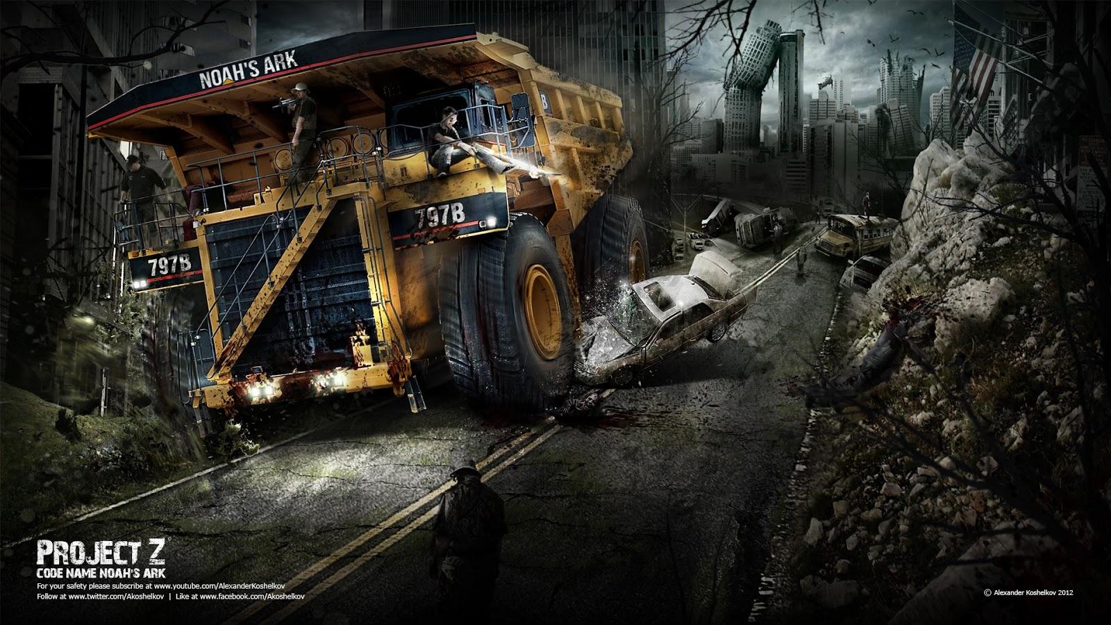 Zombie Apocalypse Wallpaper HD - WallpaperSafari