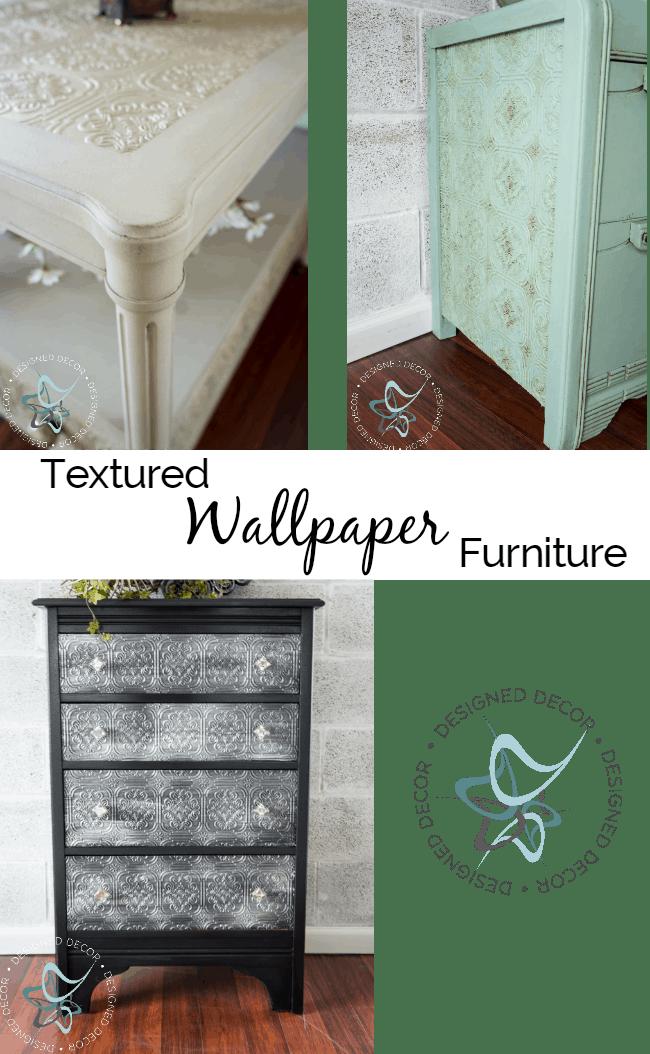 Textured Wallpaper Furniture   Designed Decor 650x1054