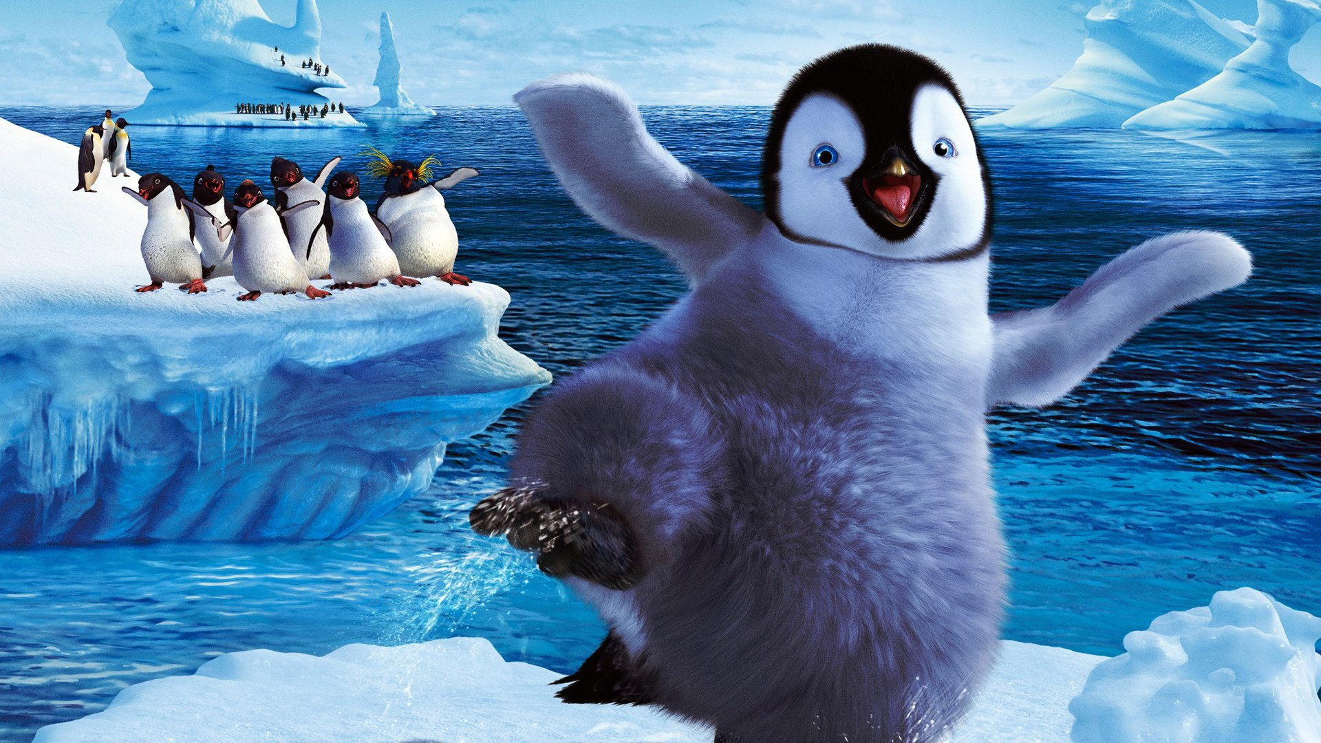 12 Happy Feet 2 HD Wallpapers Background Images 1920x1080