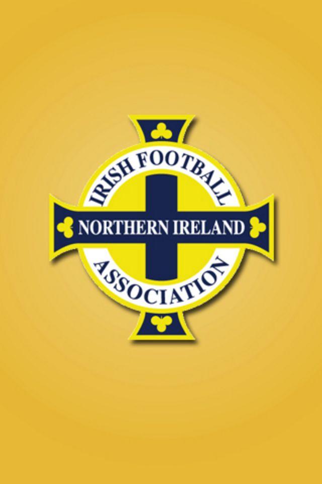 Northern Ireland Football Logo iPhone Wallpaper HD 640x960