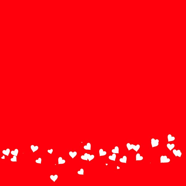 Free Download Heart Border 1 A Plain Red Background With A