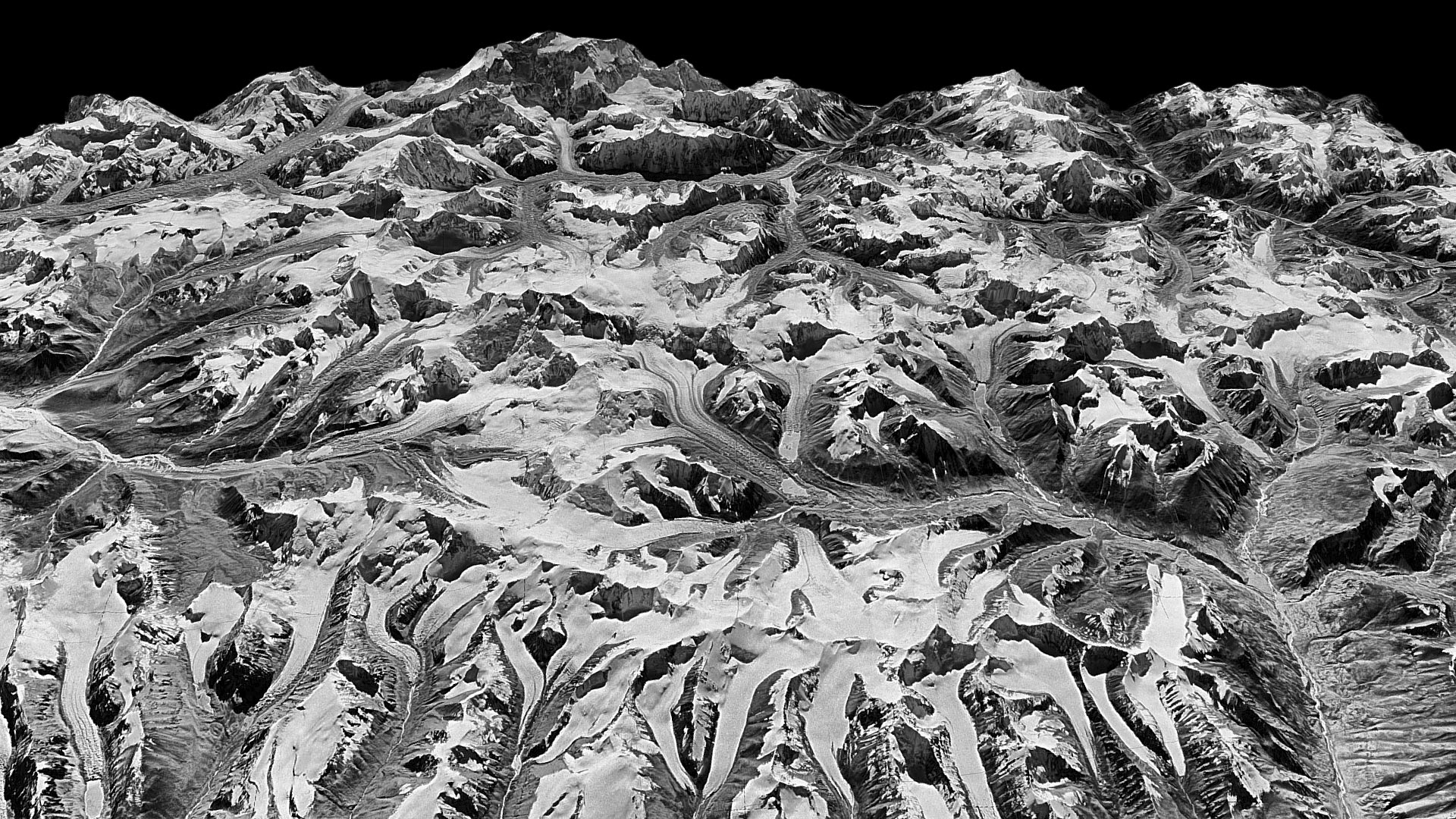 Declassified satellite images show how Himalayan glaciers have 1920x1080