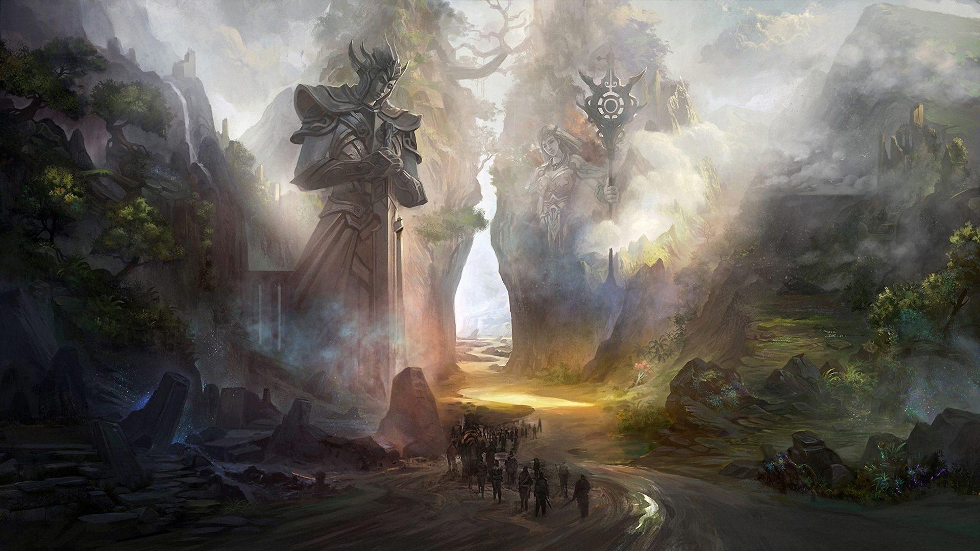 [75+] Fantasy Wallpaper Hd on WallpaperSafari