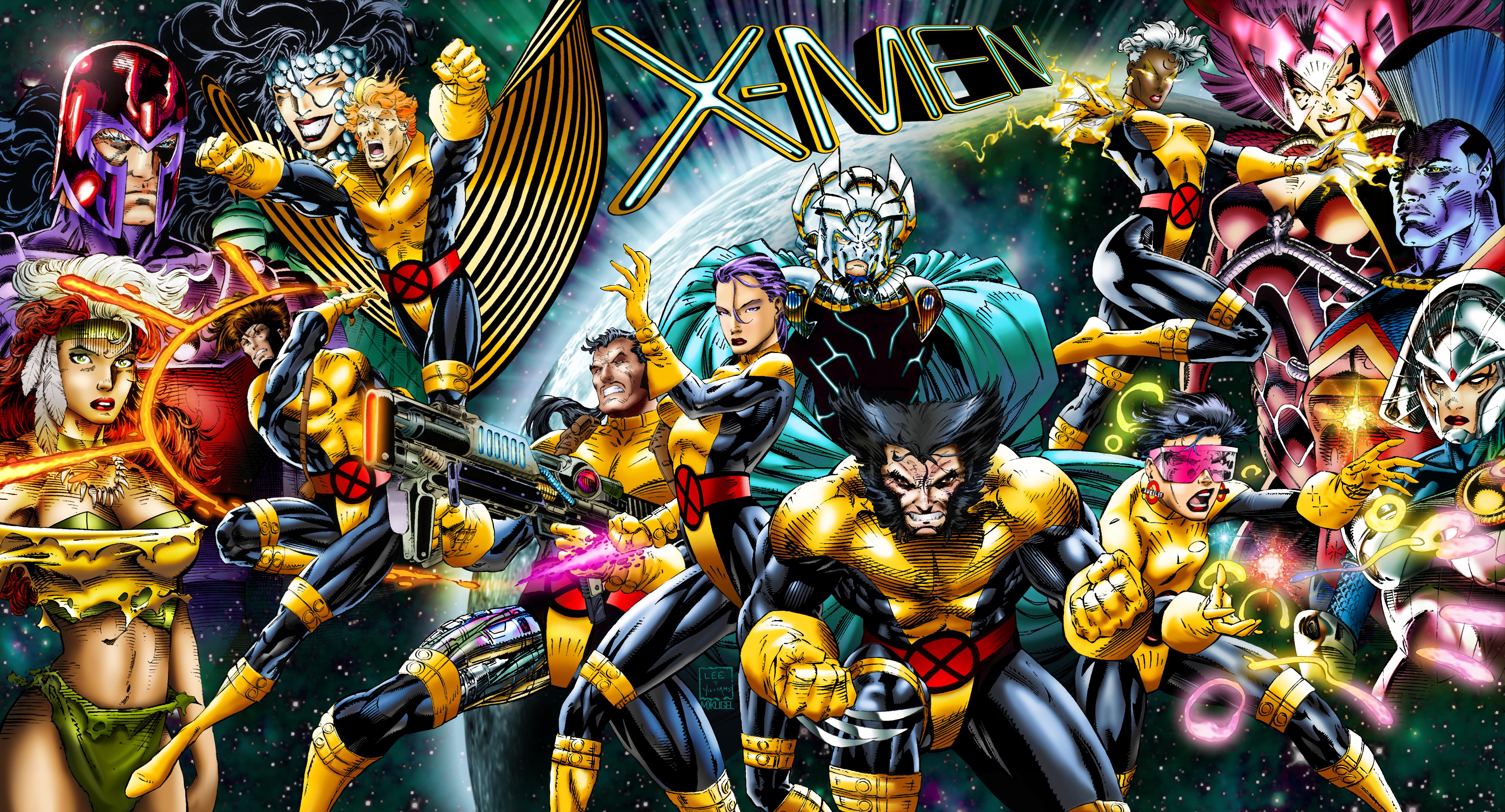 Uncanny X Men Wallpaper 5576x3009