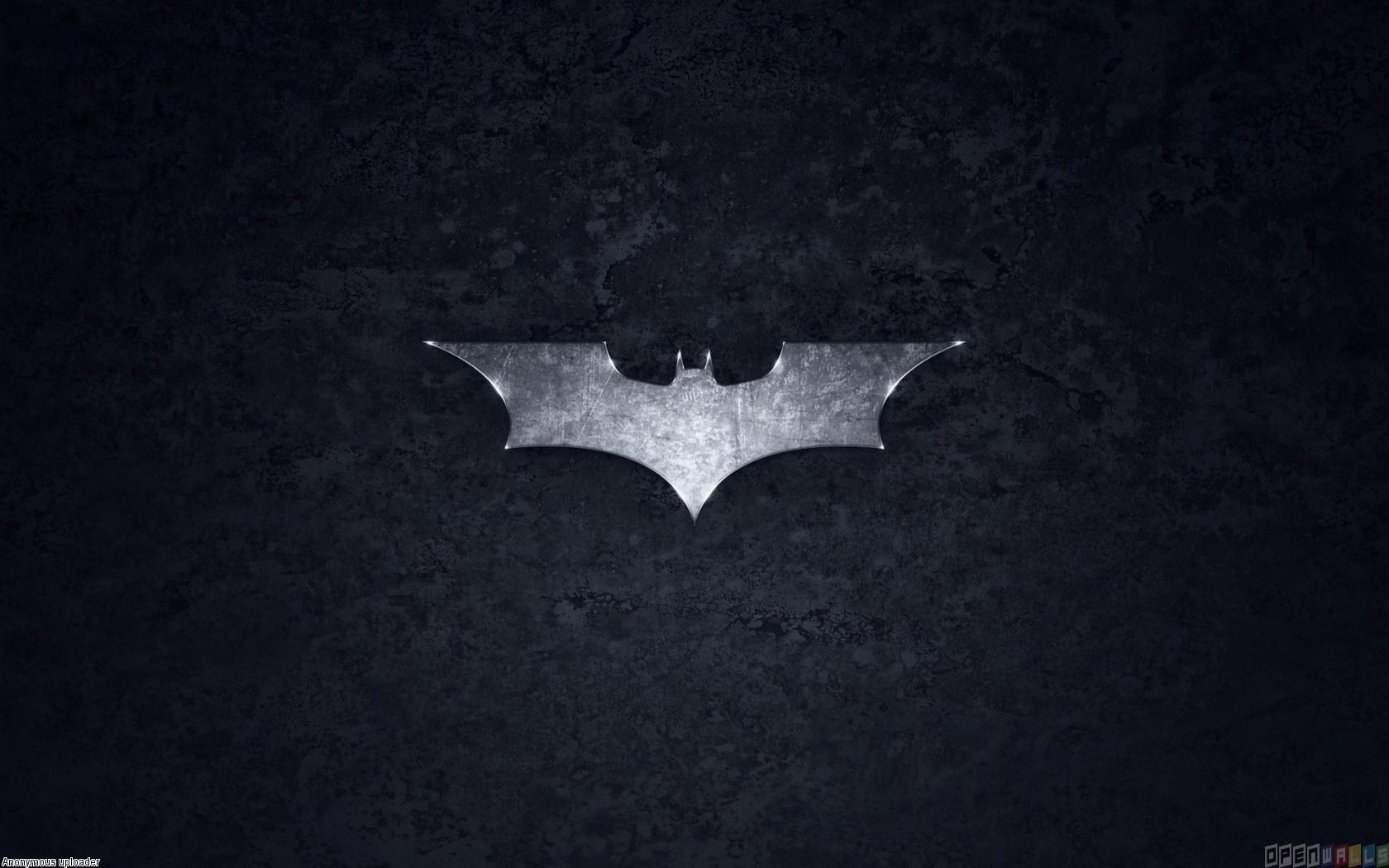 Batman logo wallpaper 6805   Open Walls 1680x1050