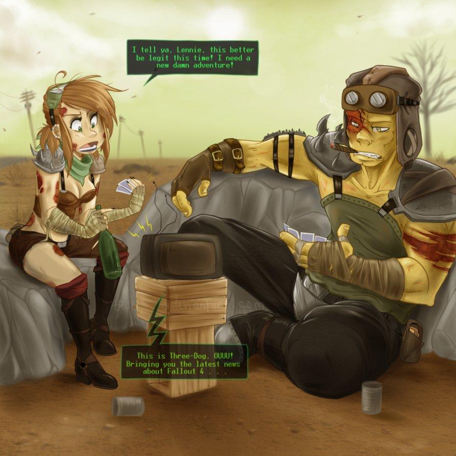 Fallout 4 Piper Wallpaper