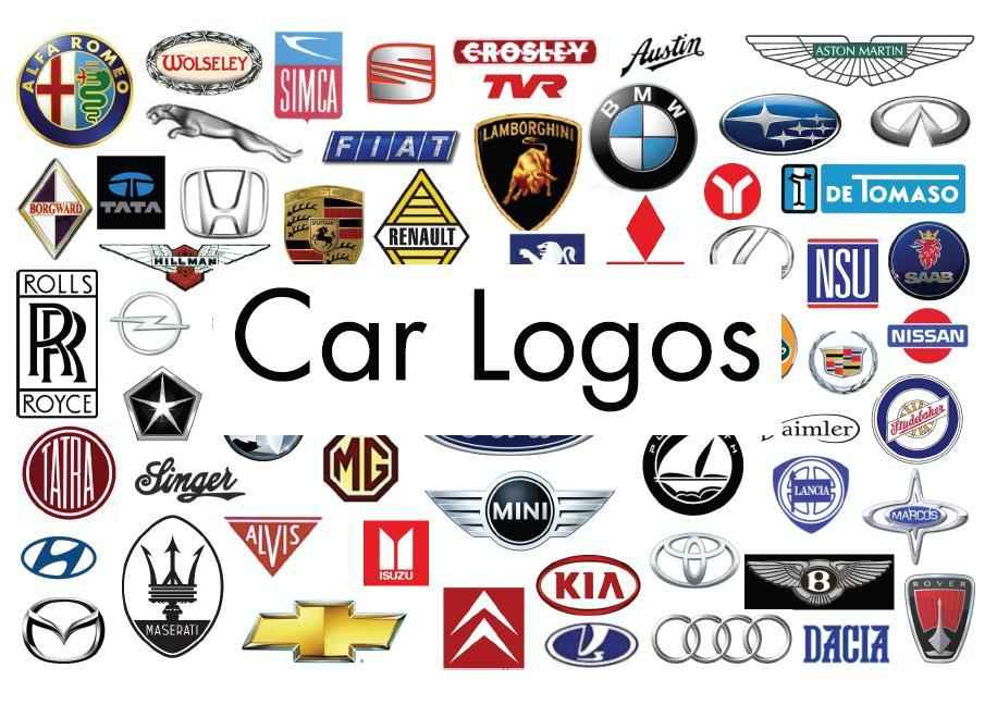Car Brand Names And Logos