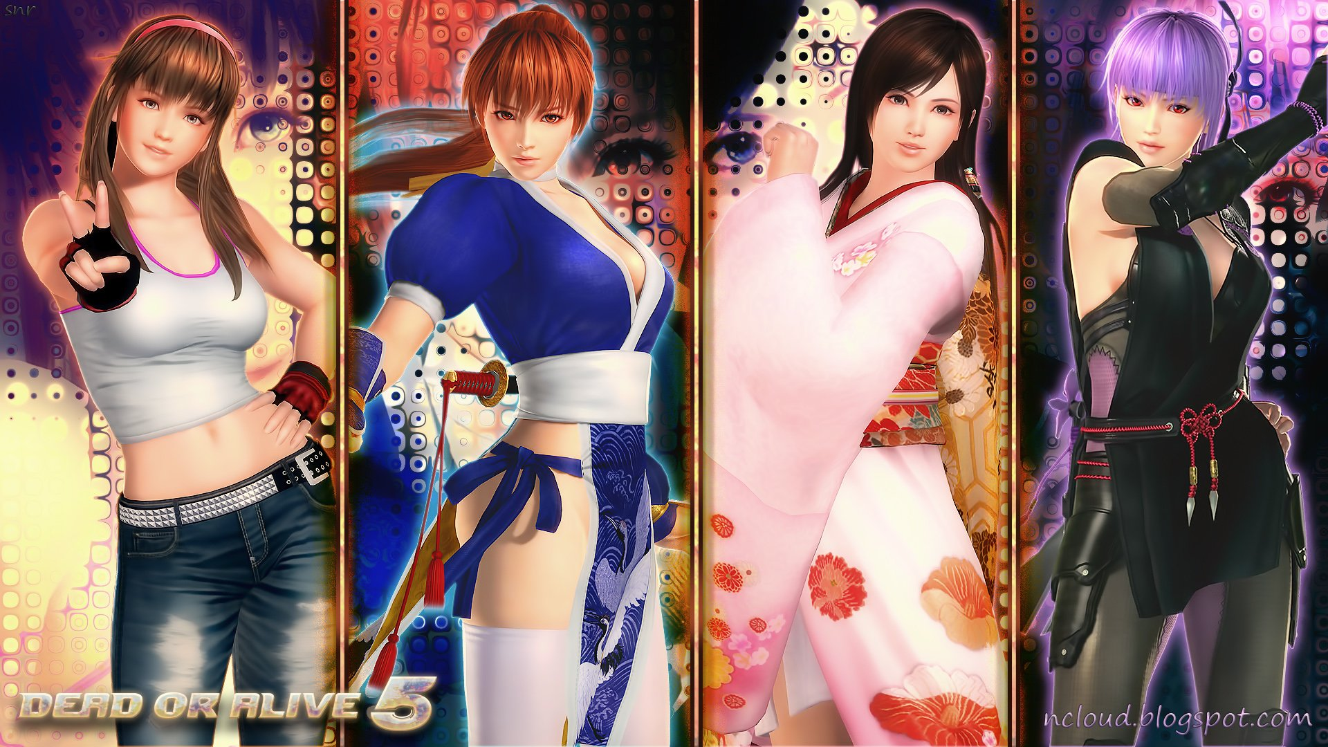 Games Movies Music Anime My Dead or Alive 5 Girls Wallpaper 1 1920x1080