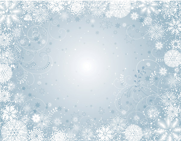 free vector winter vector background 016786 Winter back2jpg 600x469