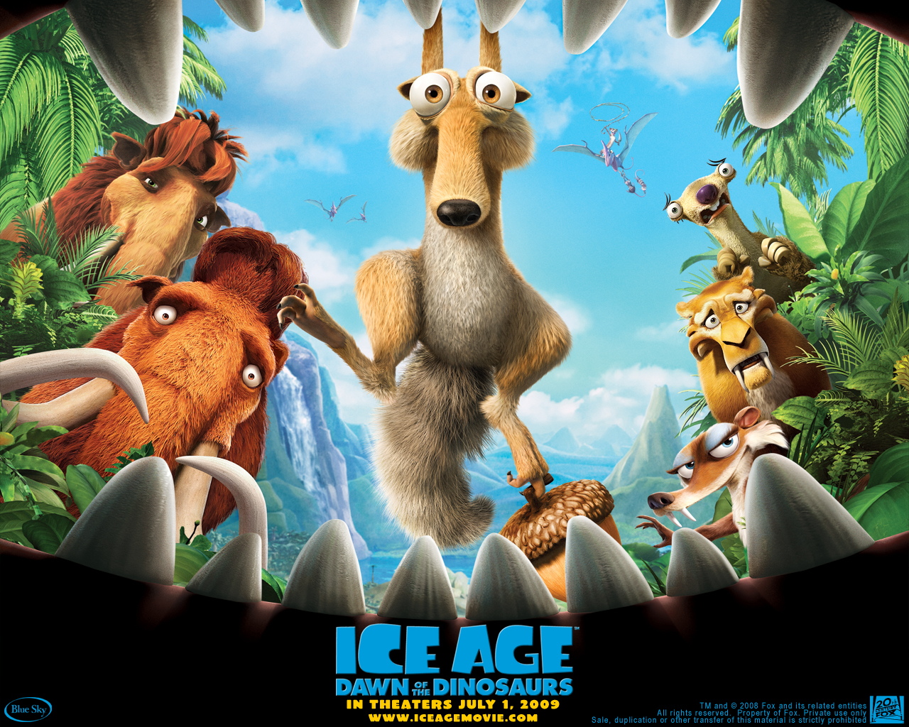 Ice Age 2 Wallpapers HD Wallpapers 1280x1024
