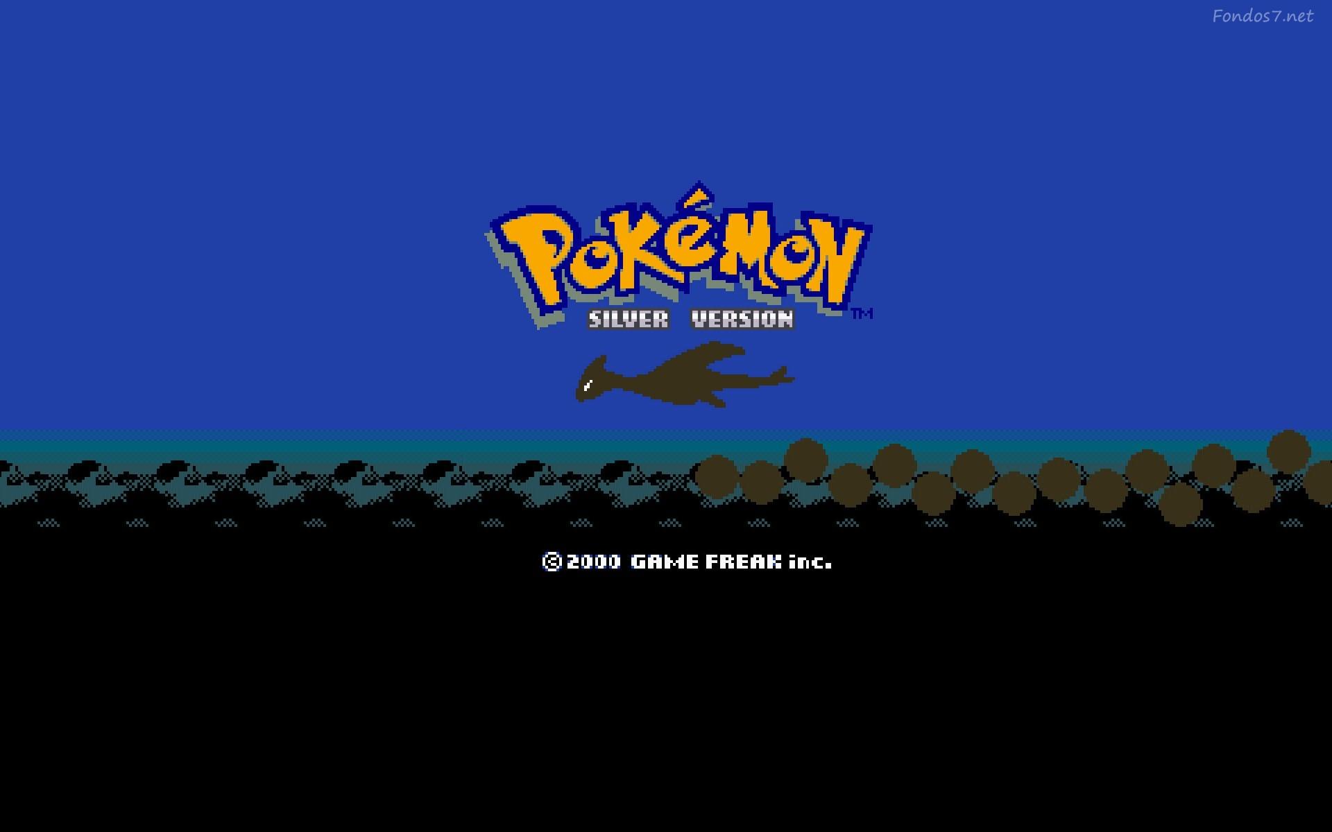 Pokemon Silver Version 1920x1200