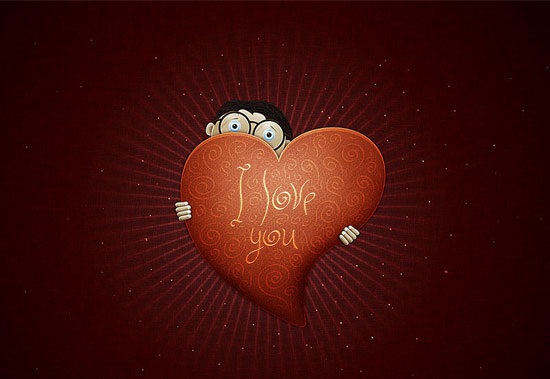 3D Valentine Wallpapers Valentines Day 3D Wallpapers 550x379