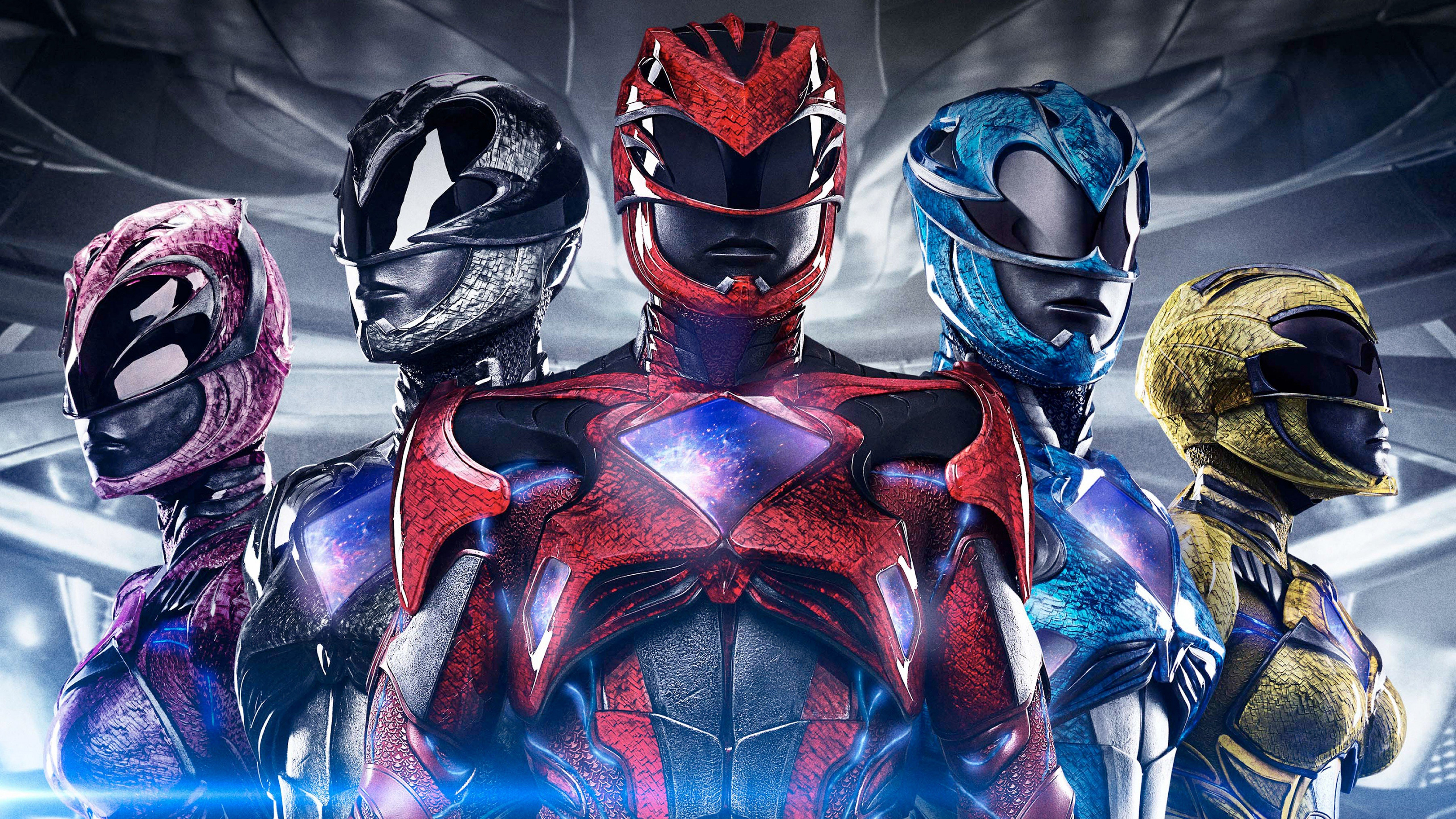 50 Power Rangers 2017 HD Wallpapers Background Images 5120x2880