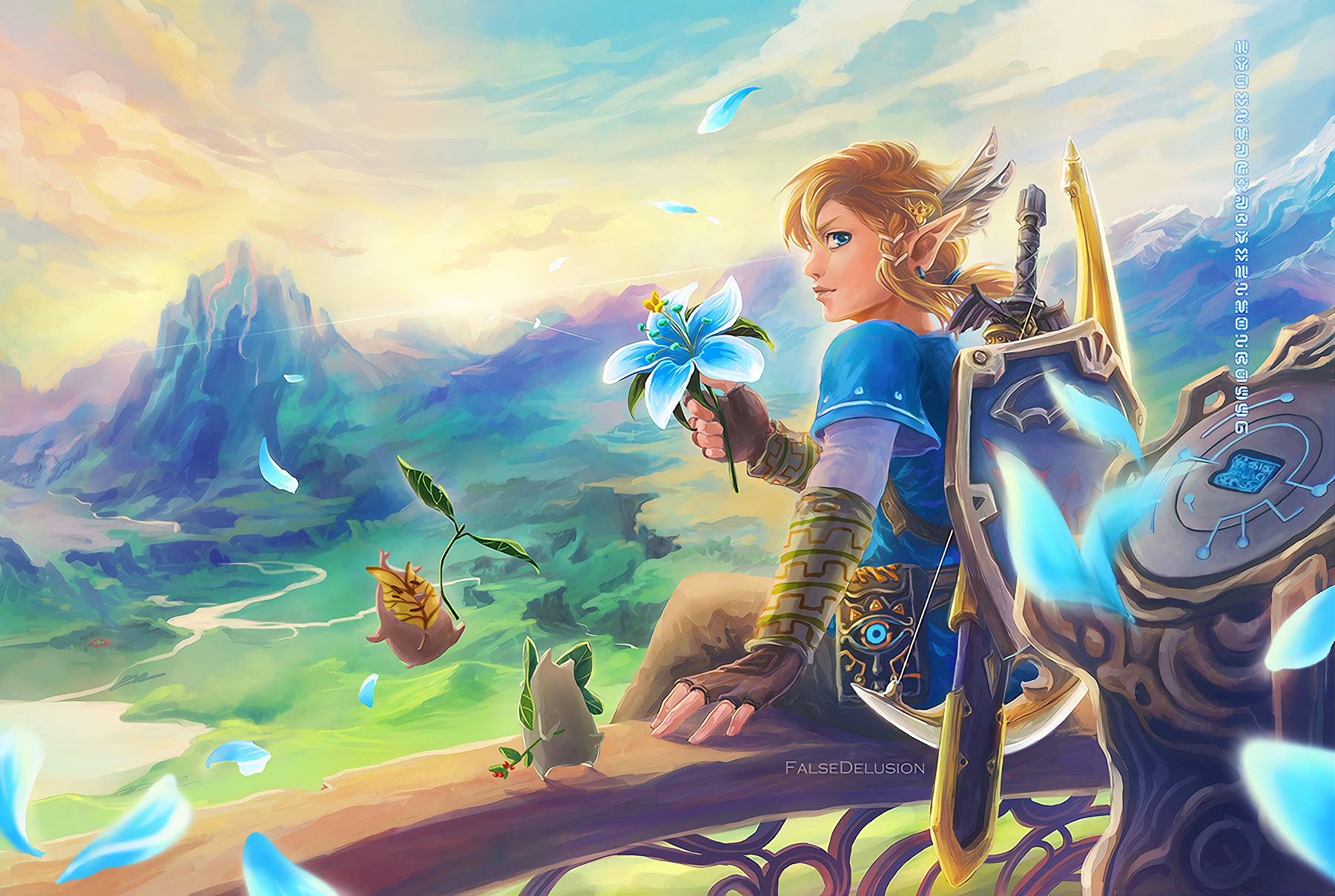 Free Download The Legend Of Zelda Breath Of The Wild Wallpaper And