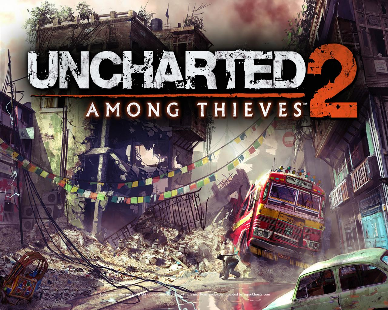 Uncharted 2 Among Thieves Wallpapers 1280x1024