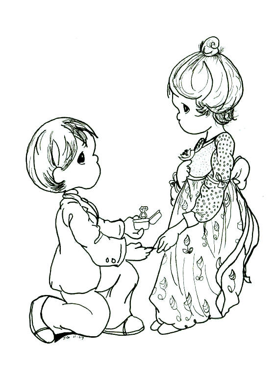 Precious Moments Christmas Coloring Pages Wallpapers9 567x764