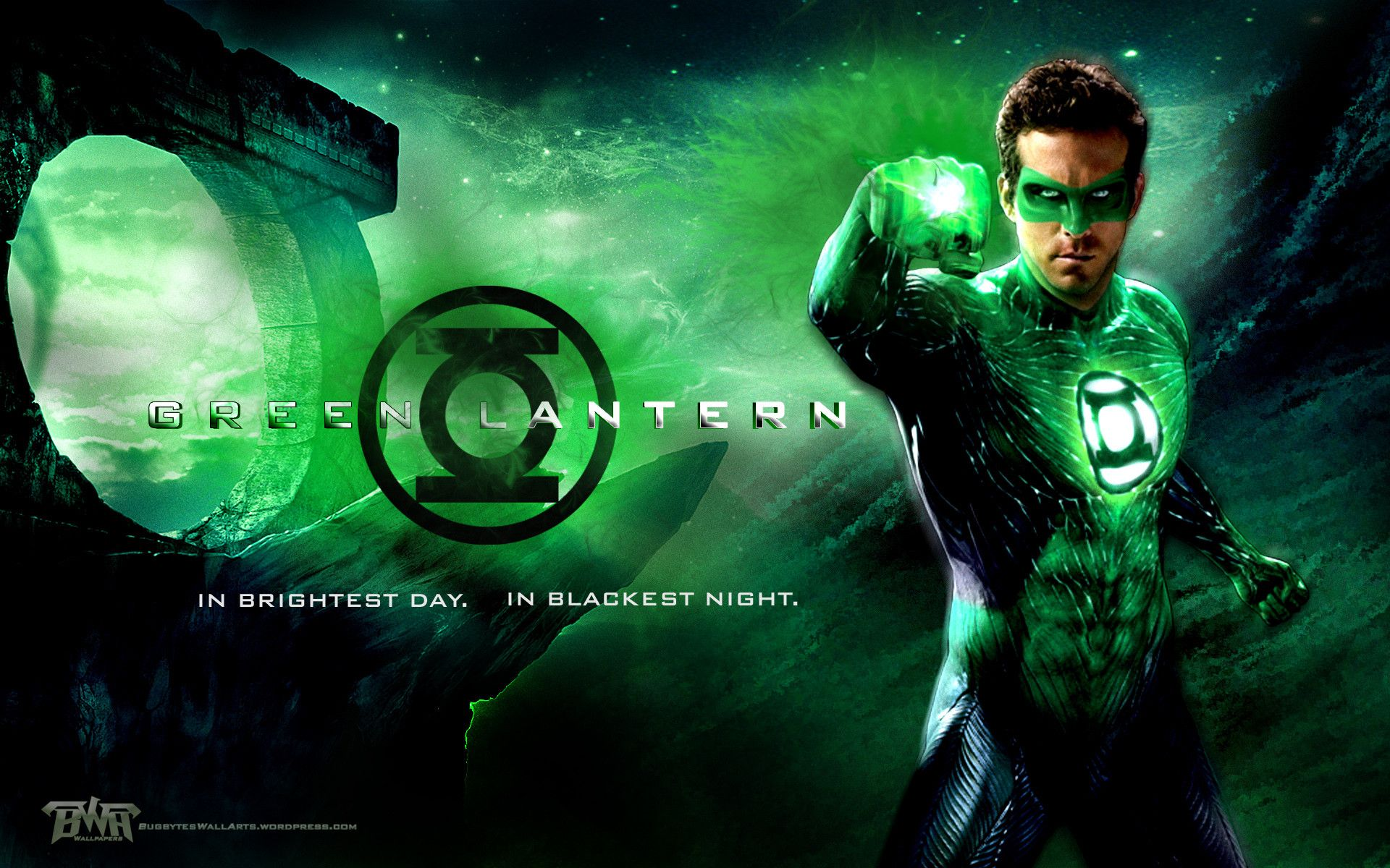 In Brightest Day In Blackest Night HD Wallpaper Background 1920x1200