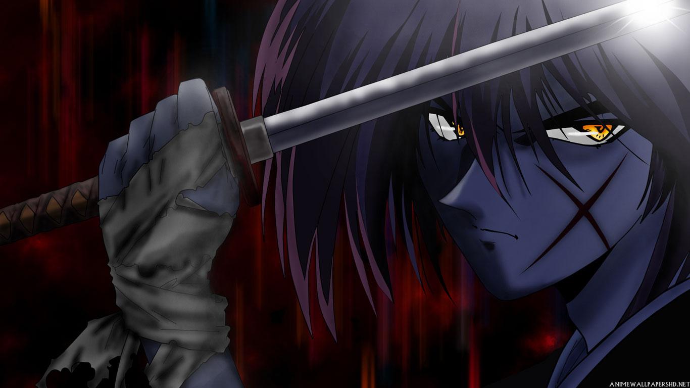 1366x768 U003cbu003esamuraiu003c/bu003e, Swords, Girl, Mask,