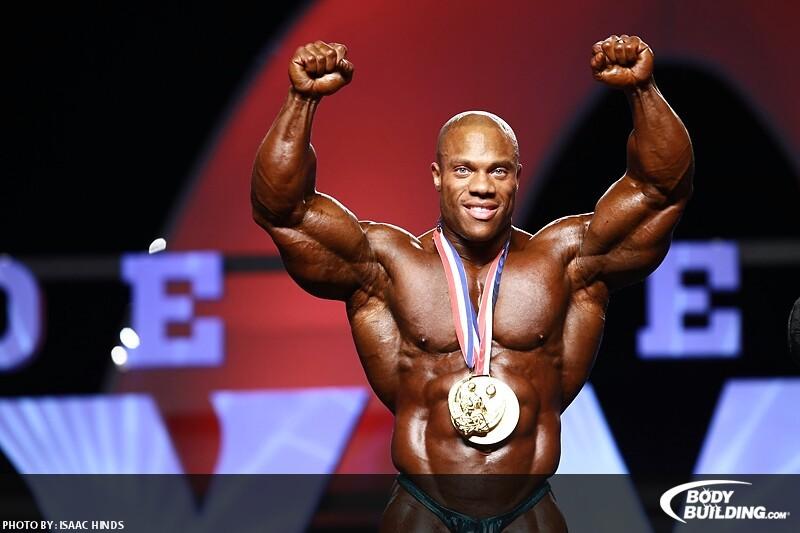 2011 Mr Olympia Winner Phil Heath Phil Heath Won 2011 Mr Olympia 800x533