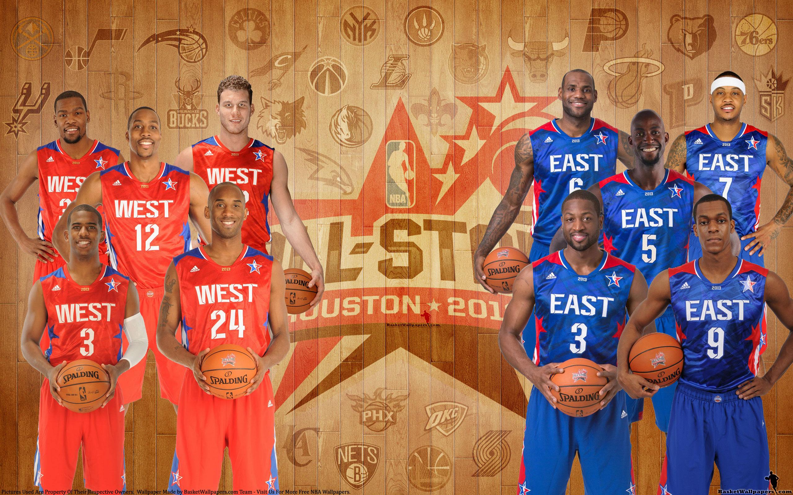 Description 2013 NBA All Star Starters is a hi res Wallpaper for pc 2560x1600