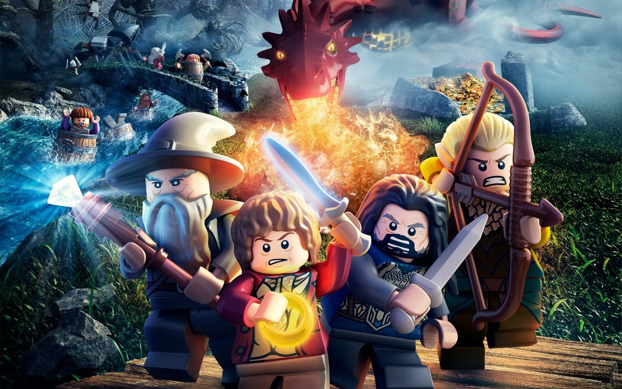 LEGO The Hobbit Game Fondos de Pantalla   Imagenes Hd  Fondos gratis 1280x800