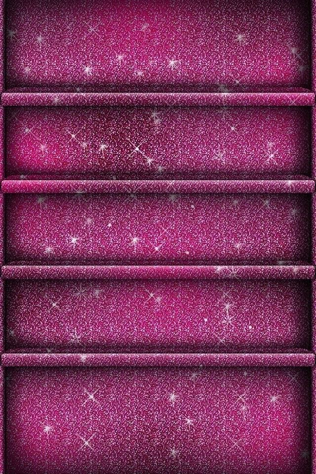 Iphone Things Ipad Wallpapers Glitter Phones Wallpapers Pink 640x960