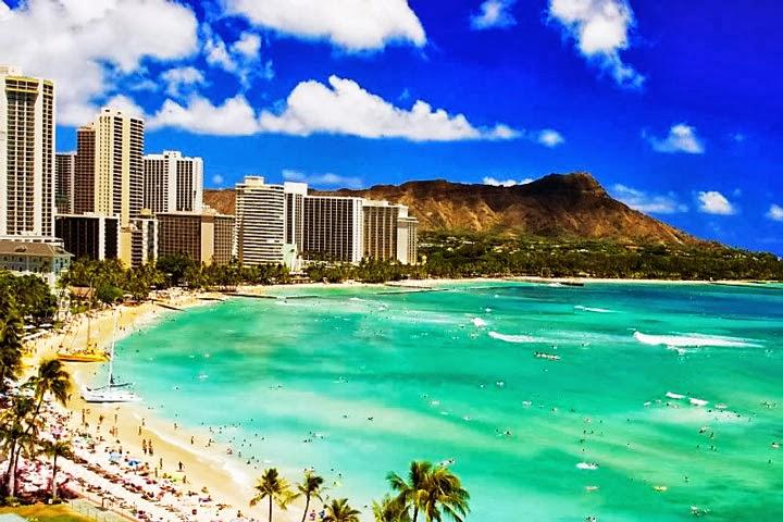 Waikiki Beach Hawaii Wallpaper Honolulu 720x480