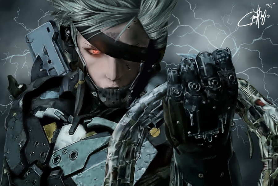 42 Hd Raiden Wallpaper On Wallpapersafari: Raiden Metal Gear Wallpaper