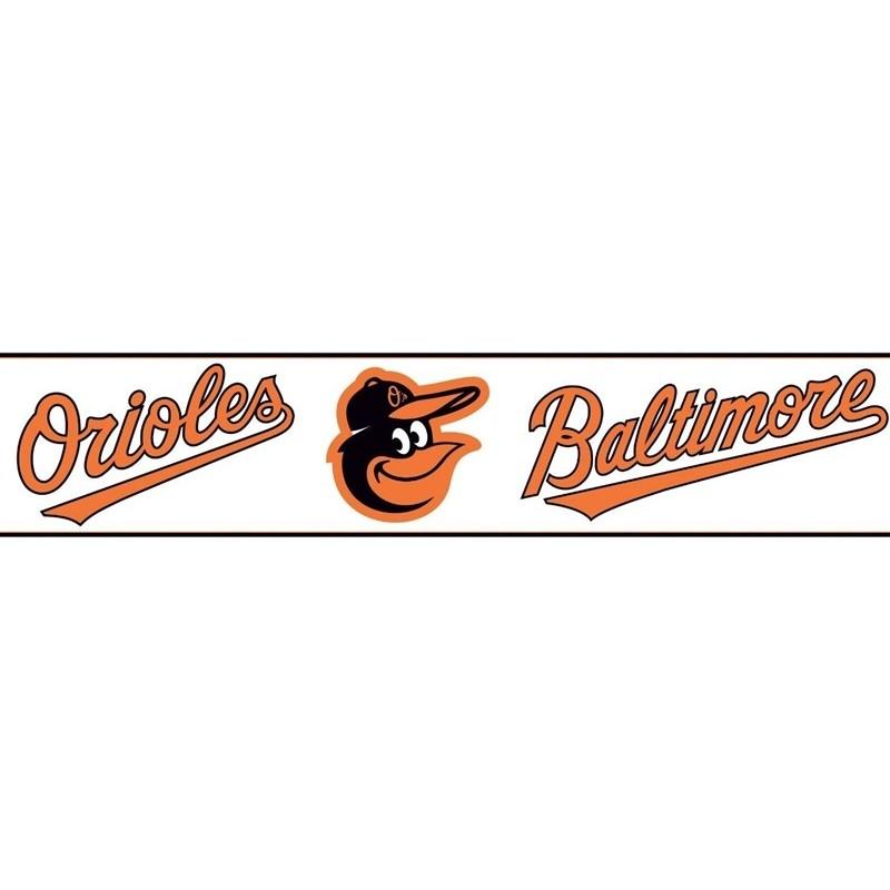 Wallpaper Border MLB Baltimore Orioles Border 800x800