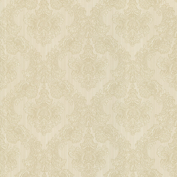 987 56547 Cream Damask Fabric   Monalisa   Mirage Wallpaper 600x600