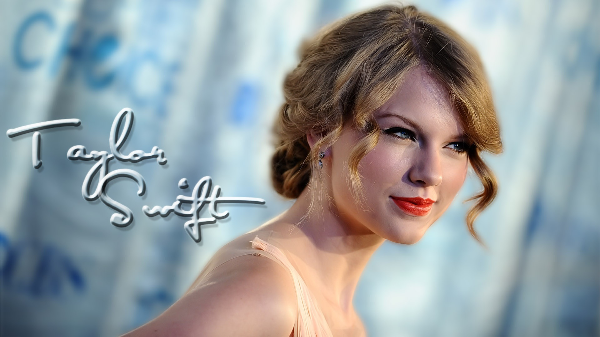 Lovely Taylor Wallpaper   Taylor Swift Wallpaper 26240296 1920x1080